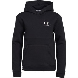 Under Armour Junior Hoodie Black