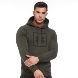Under Armour Rival Hoodie Green