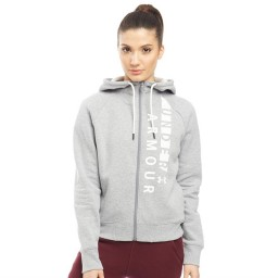 Under Armour Rival Full Hoodie Grey