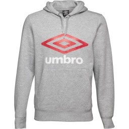 Umbro Grey Marl/Vermillion/White