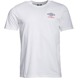 Umbro Small T-White/Dark Navy/Vermillion