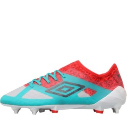 Umbro Velocita III Pro SG Blue/Carbon/Fiery Red/Green