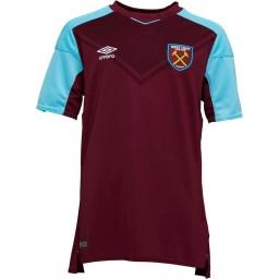 Umbro Junior WHUFC West Ham United Home Jersey New Claret/Bluefish