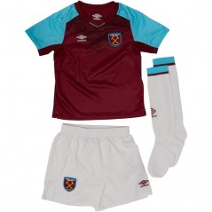 Umbro WHUFC West Ham United Mini Kit New Claret/Bluefish