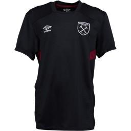Umbro Junior WHUFC West Ham United Jersey Black/New Claret