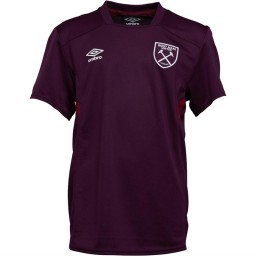 Umbro Junior WHUFC West Ham United Jersey Bloom/New Claret