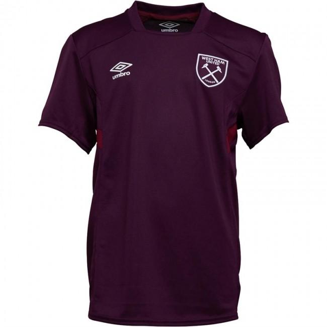Umbro Junior WHUFC West Ham United Jersey Bloom/New Claret