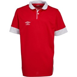 Umbro Junior Trophy Match Jersey Vermillion/White