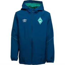 Umbro Junior SVWB Werder Brenman Rain Legion Blue/Golf Green