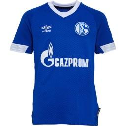 Umbro Junior S04 FC Schalke 04 Home Royal Blue/White