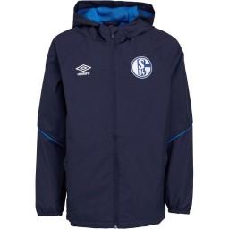 Umbro Junior S04 FC Schalke 04 Rain Peacoat/Electric Blue