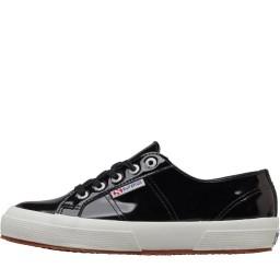 Superga 2750 Leather Patent Black