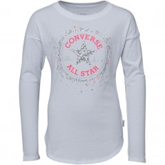 Converse Sequin Chuck Patch T-White