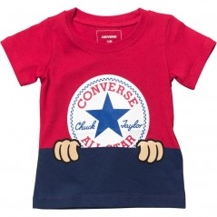 Converse Baby Peeping Chuck Patch T-Red
