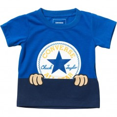 Converse Baby Peeping Chuck Patch T-Laser Blue
