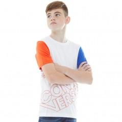 Converse Junior Sport Splice T-White