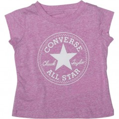 Converse Baby Chuck Patch T-Fuchsia Glow Heather