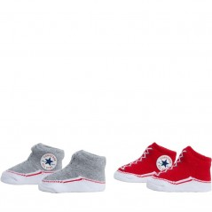 Converse Baby Two Pairs Red/Grey