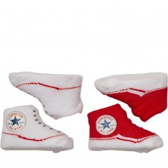 Converse Baby Two Pairs Red