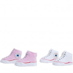 Converse Baby Two Pairs Chuck Pink/White