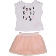 Converse Baby T-And Tutu Hanging Set White