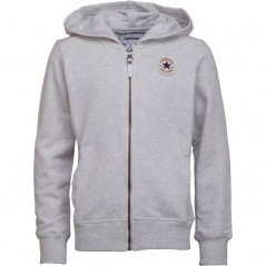 Converse Junior French Terry Hoodie Lunar Rock Heather