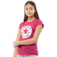 Converse Junior Chuck Taylor Signature T-Pink Pop