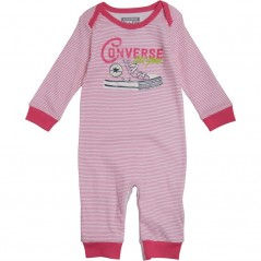 Converse Baby All Star Coverall Mod Pink