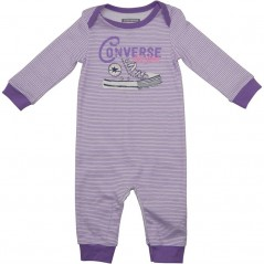 Converse Baby All Star Coverall Frozen Lilac