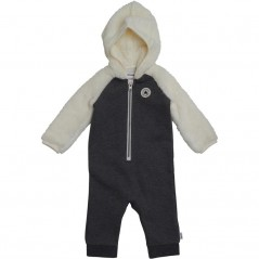 Converse Baby And Sherpa Coverall Charcoal Grey Heather