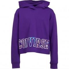 Converse Junior Iridescent Hoodie Court Purple