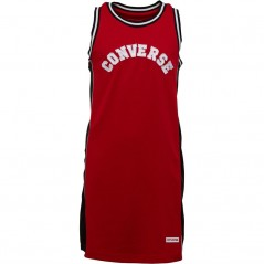 Converse Junior BasketJersey Enamel Red