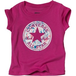Converse Baby Filled Chuck Patch T-Plastic Pink