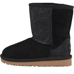 UGG Toddler Classic Short Serein Black