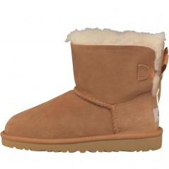 UGG Junior Mini Bailey Bow Chestnut