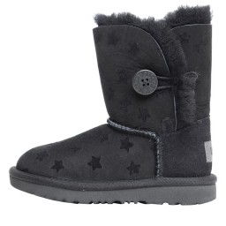 UGG Toddler Bailey Button II Stars Classic Black