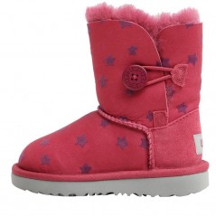 UGG Toddler Bailey Button II Stars Classic Brambleberry