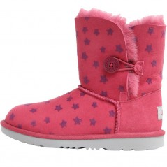 UGG Junior Bailey Button II Stars Classic Brambleberry