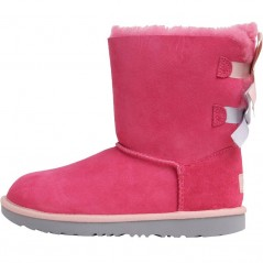UGG Junior Bailey Bow II Classic Pink Azalea/Icelandic Blue
