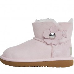 UGG Mini Bailey Button Poppy SeaPink