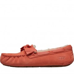 UGG Leather Bow Vibrant Coral