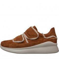 UGG Ashby Spill Seam Sneakers Chestnut