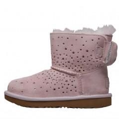 UGG Toddler Stargirl Classic Mini II Bow Bright Pink