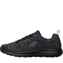 SKECHERS Low Key Power Trippin Black/Black