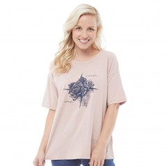Animal Navigated Deluxe T-Woodrose Pink