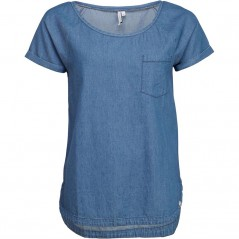 Animal Flow Deluxe T-Chambray Blue