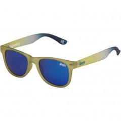 Superdry Superfarer Blue Tinted Wayfarer Yellow/White/Blue