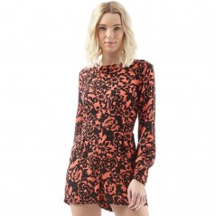 Superdry Gathered Bell PlayEivissa Floral Coral