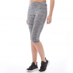 Superdry Sport Gym Capri Speckle Charcoal