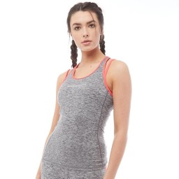 Superdry Sport Gym Duo Strap Charcoal Grit